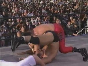 Chris Benoit Wins Malenko at HoG Wild 1996
